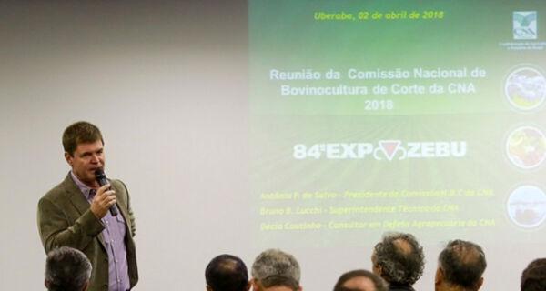 CNA realiza reunião da Comissão de Bovinocultura de Corte na Expozebu