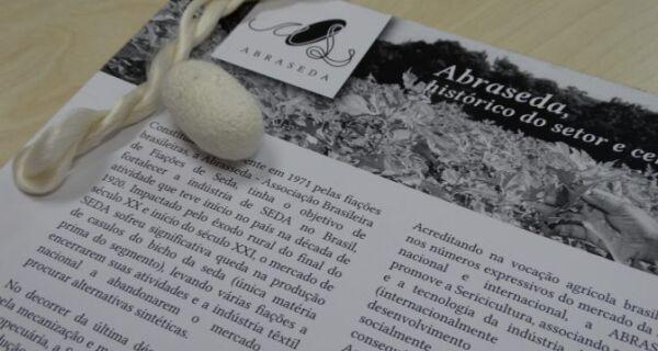 Semagro recebe associação e discute aumento da produção de seda em MS