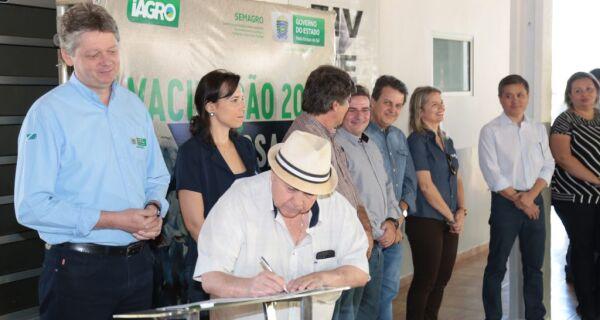 Acrissul participa de lançamento oficial de campanha contra febre aftosa em MS