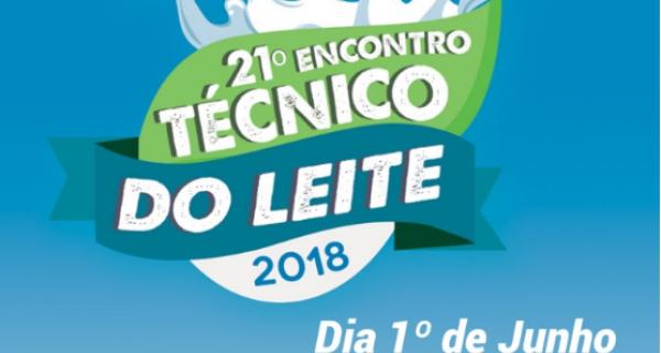 Encontro Técnico do Leite será realizado dia 1º de junho em Campo Grande