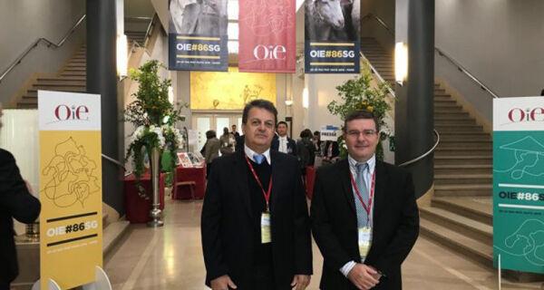 Diretor Presidente da Iagro participa de sessão da OIE em Paris