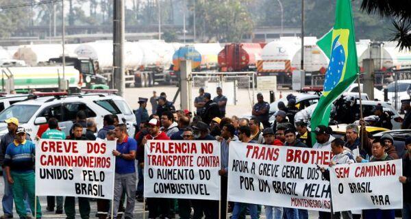 Protestos param 107 frigoríficos; setor deixa de exportar 40 mil t