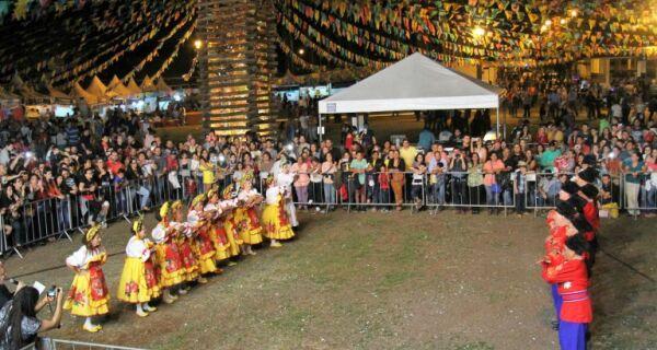 Arraial de Santo Antônio segue até o dia 13 no Parque Laucídio Coelho