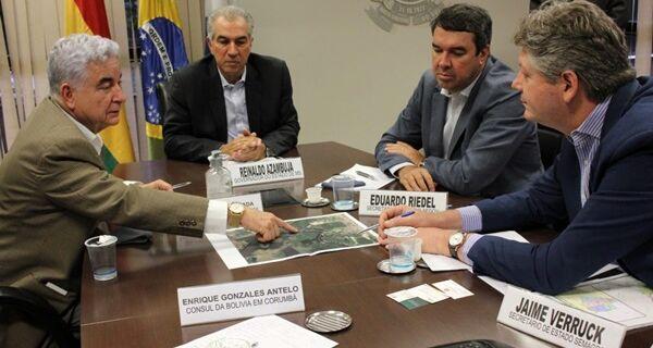 MS e Bolívia alinham projetos de desenvolvimento para região de fronteira
