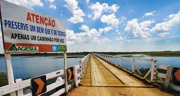 Ponte no Rio Nabileque, na MS-243, estará interditada durante 40 dias a partir de hoje