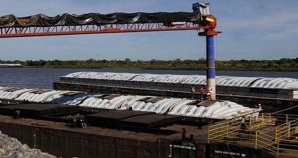 Com dois portos ativos, volume das exportações de MS via Porto Murtinho cresce 57,83% em 2020