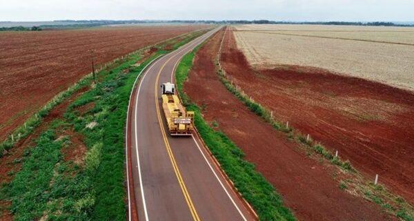 Azambuja autoriza pavimentação de duas rodovias em Sidrolândia nesta segunda