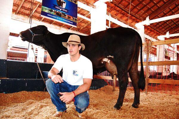 Campeã do Torneio Leiteiro produziu 42,8 quilos de leite por dia