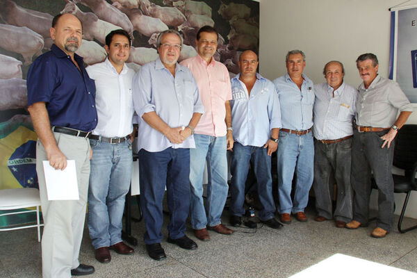Acrissul e Nelores MS recebem diretoria de associação de pecuaristas bolivianos