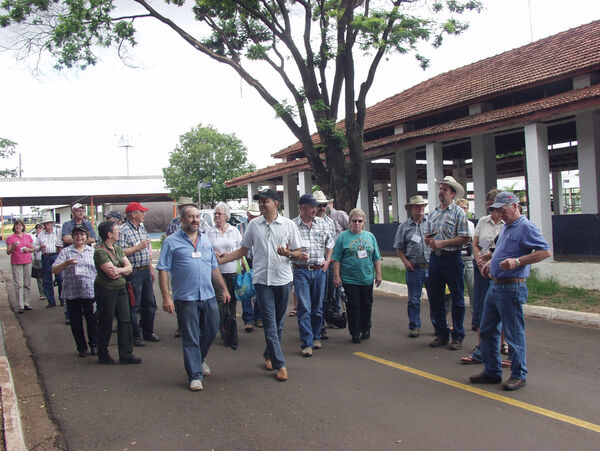 Produtores rurais canadenses visitam Acrissul e fazem tour para conhecer sistemas de produção de MS